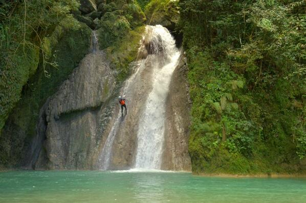 Rappelling Adventure Dominican Republic