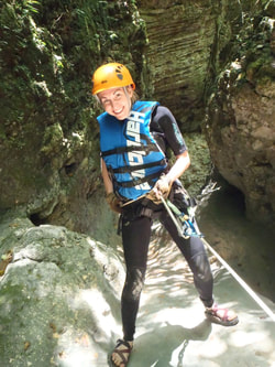Rappelling and Cascading Tour